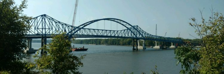 US 52 Savanna/Sabula Tied Arch bridge, IDOT District 2